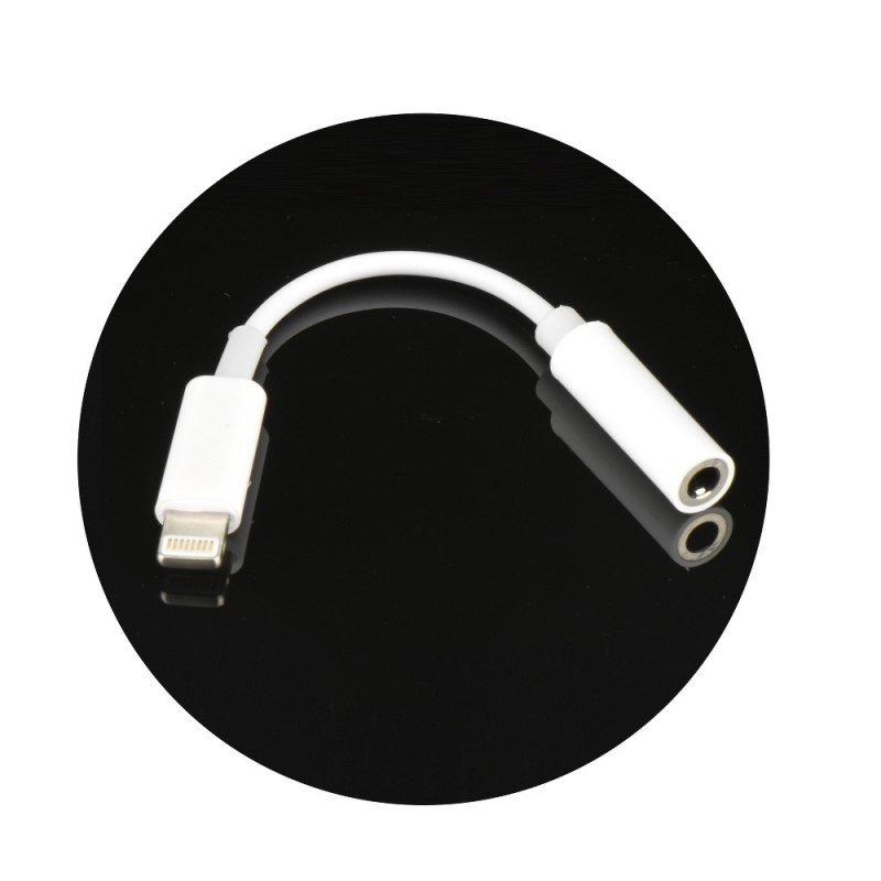 Adapter HF/audio do iPhone Lightning 8-pin - Jack 3,5mm BOX (w pudełku, żeński)