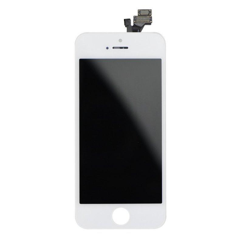Wyświetlacz do iPhone 5 z ekranem dotykowym białym (Tianma AAA)