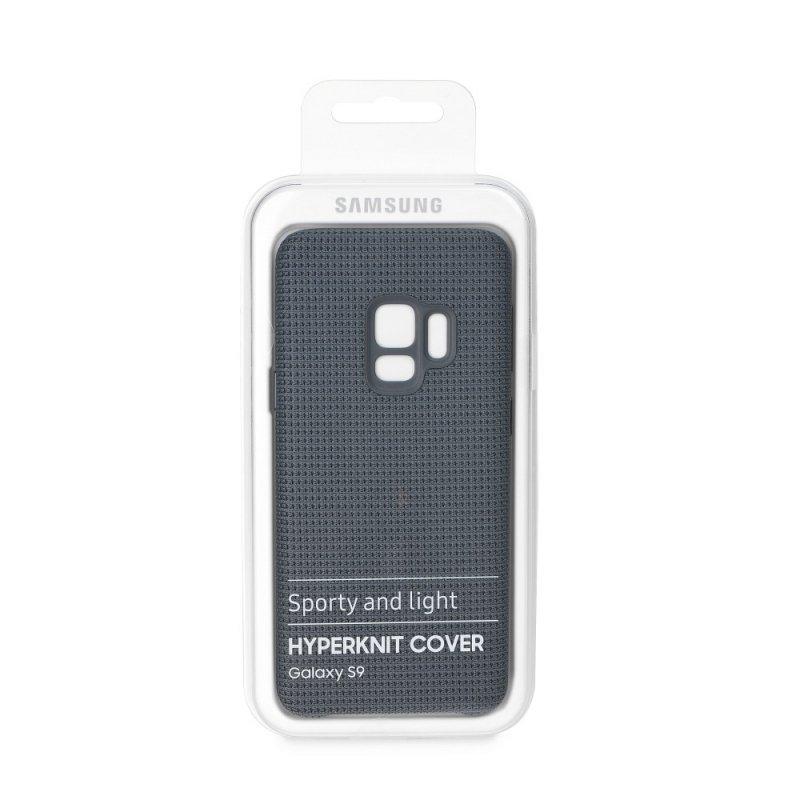 Oryginalny Futerał Hyperknit Cover EF-GG960FJ Samsung S9 szary blister