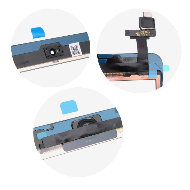 Ekran dotykowy z przyciskiem home EQ Ipad mini czarny ( A1432, A1454, A1455 )