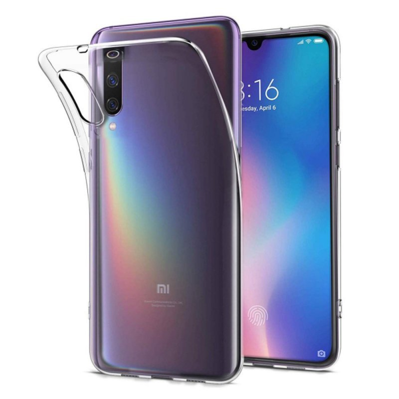 Futerał Back Case Ultra Slim 0,5mm do XIAOMI Mi 9 SE
