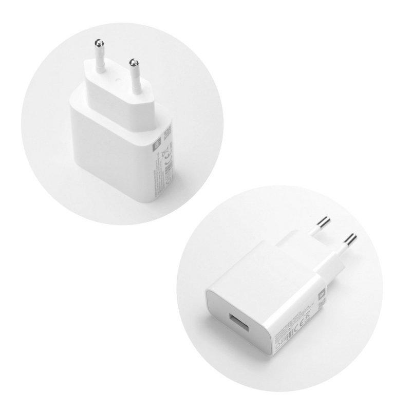 Oryginalna Ładowarka Sieciowa Xiaomi MDY-09-EW (głowica) Fast Charger 2A biała bulk