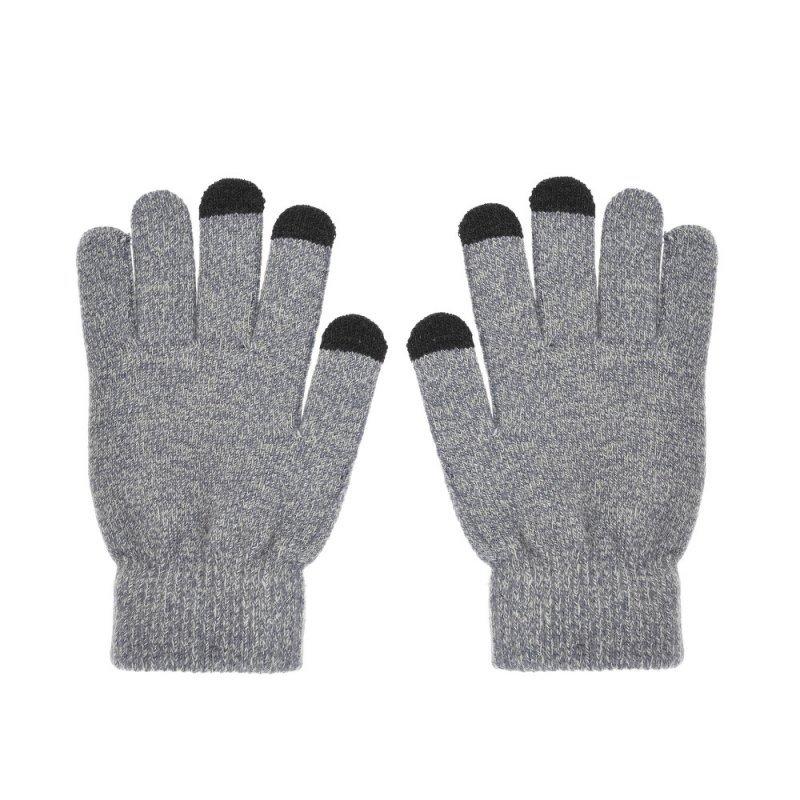 Rękawiczki do ekranów dotykowych TRAINGLE szara damska
