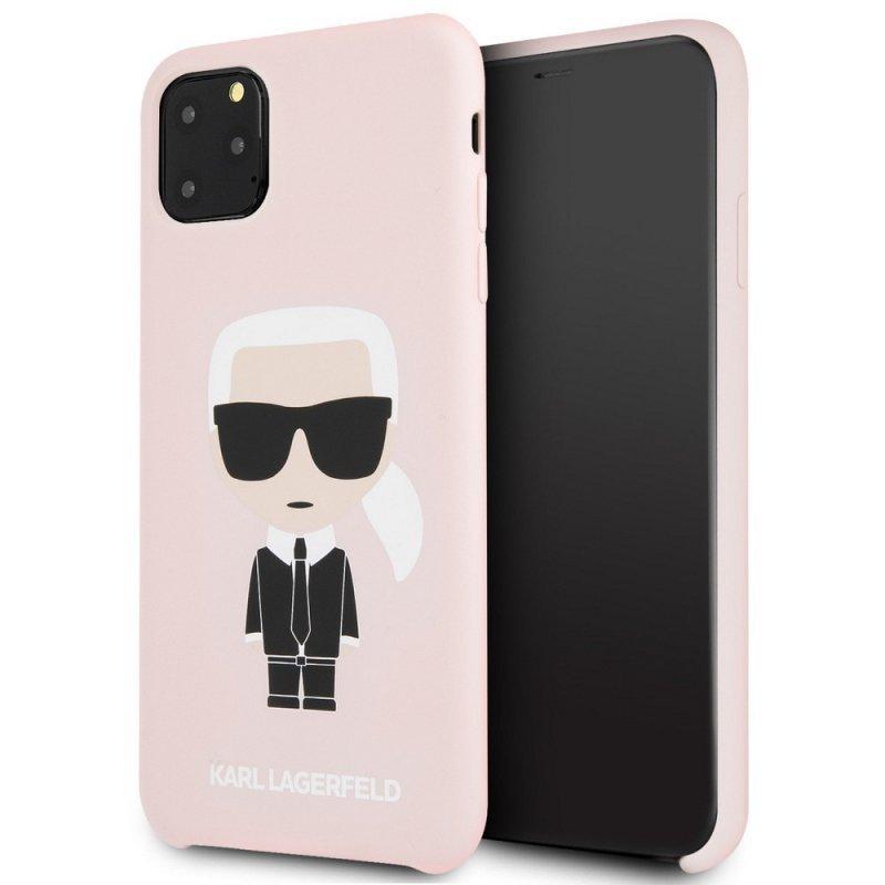 Oryginalne Etui KARL LAGERFELD Hardcase KLHCN65SLFKPI do iPhone 11 Pro Max różowy