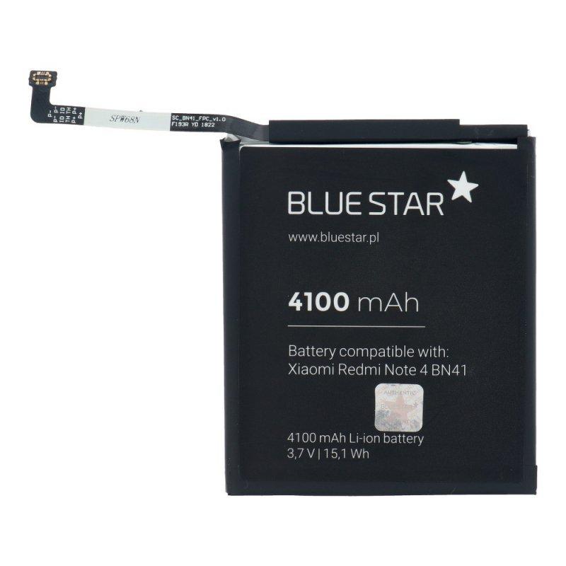 Bateria do Xiaomi Redmi Note 4 (BN41) 4100 mAh Li-Ion Blue Star