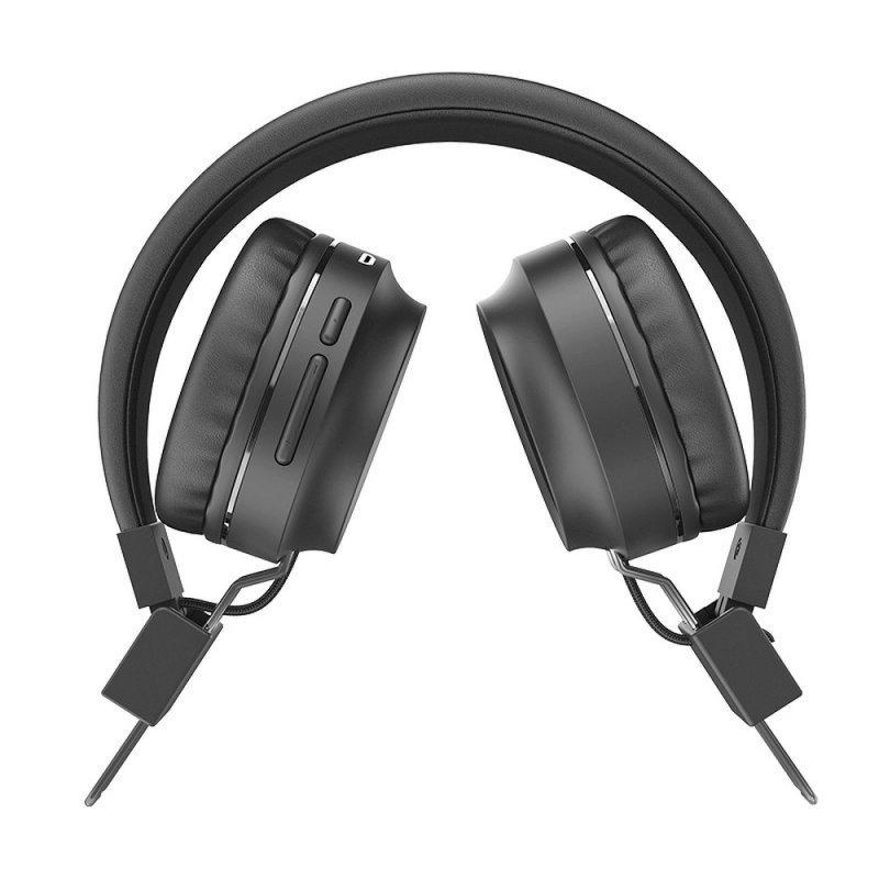 HOCO słuchawki bluetooth nagłowne Promise W25 szary