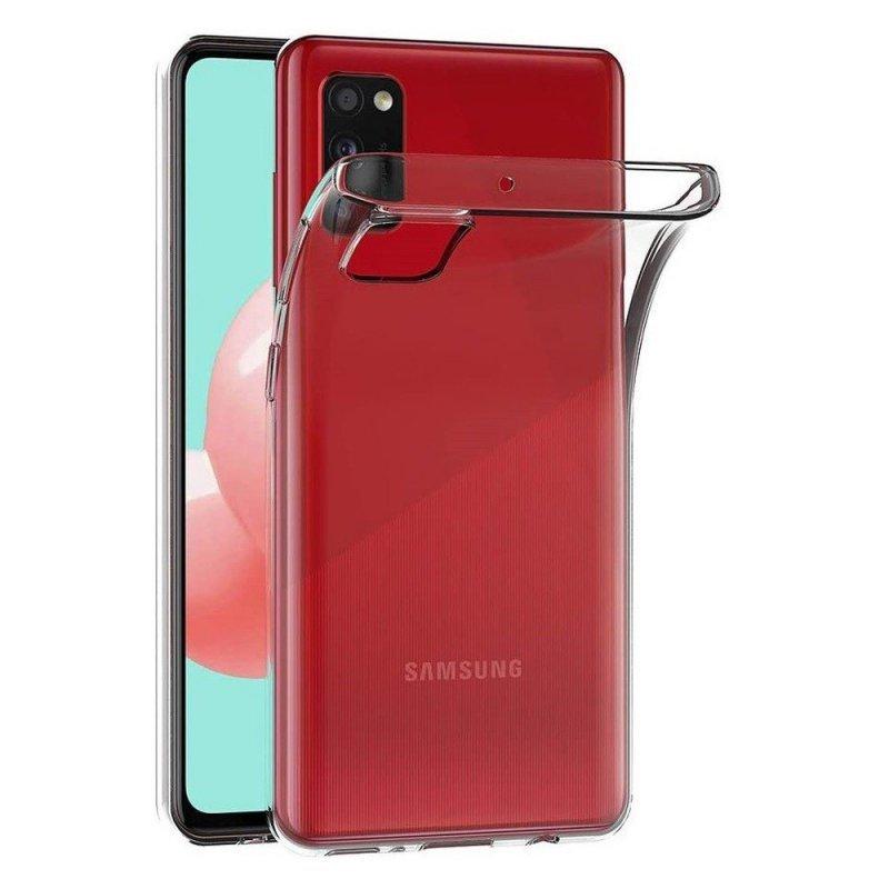 Futerał Back Case Ultra Slim 0,5mm do SAMSUNG Galaxy A41