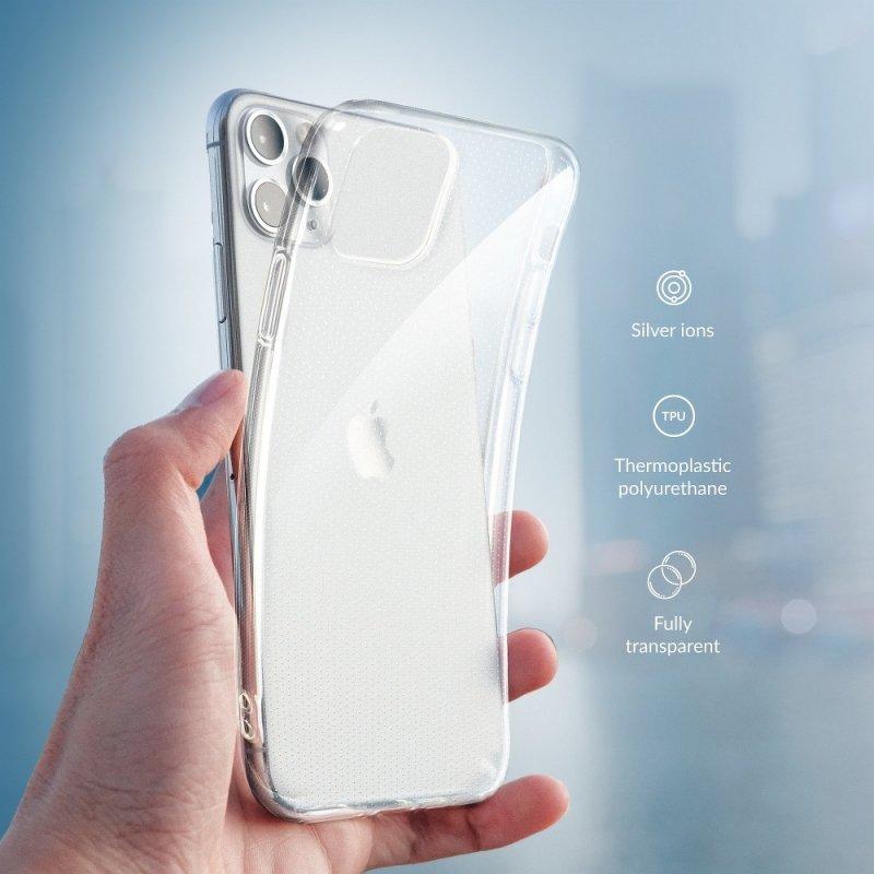 Futerał Forcell Antybakteryjny do IPHONE XS MAX transparent