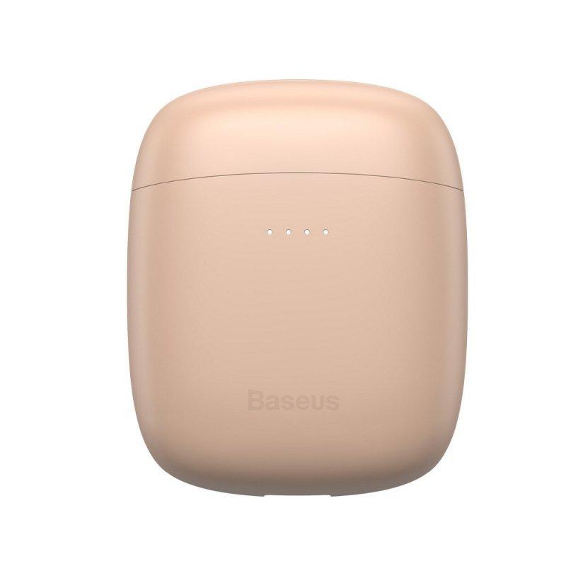 BASEUS zestaw słuchawkowy / słuchawki bluetooth TWS Encok True W04 Pro różowe NGW04P-04