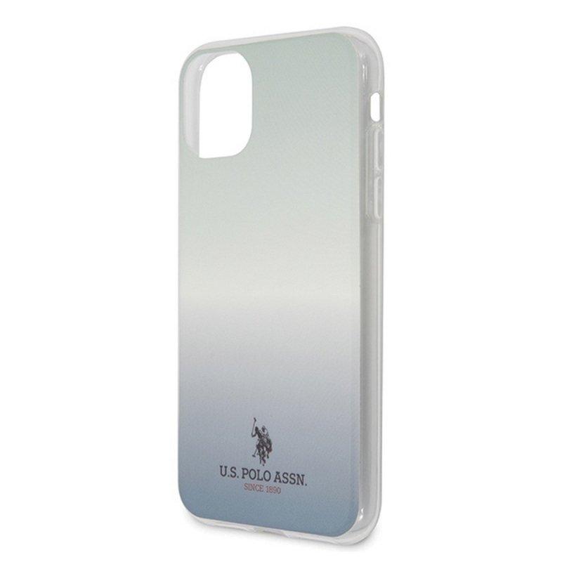 Oryginalne Etui US POLO Hardcase USHCN65TRDGLB do iPhone 11 Pro Max niebieski