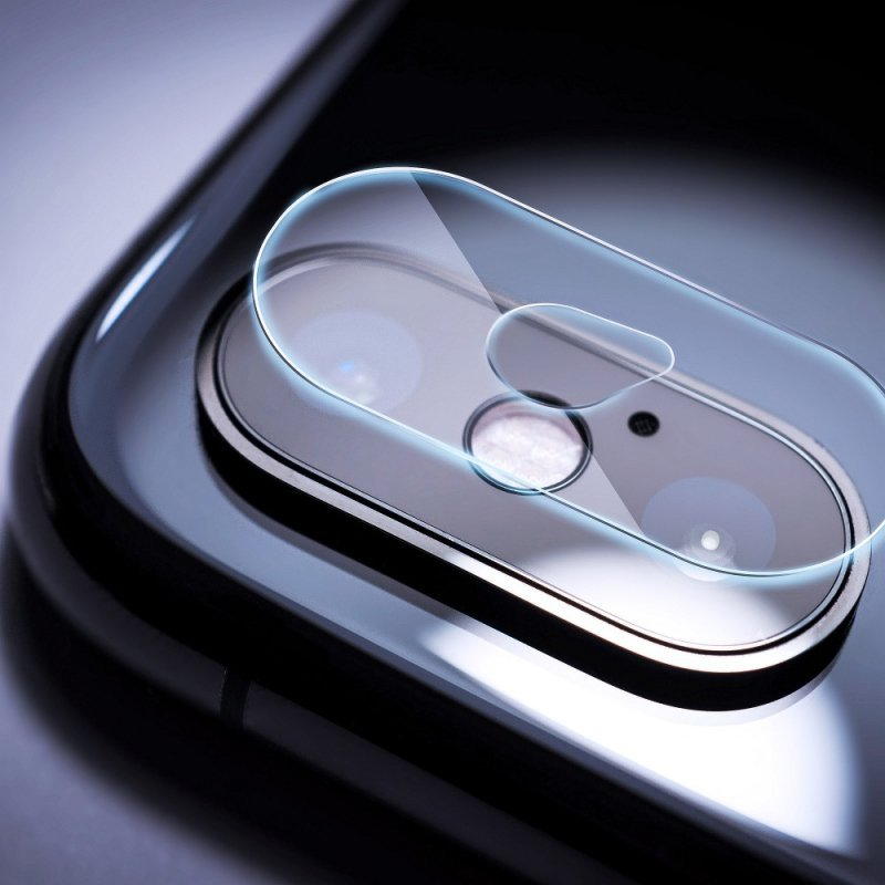 Szkło hartowane Tempered Glass Camera Cover - do iPhone X