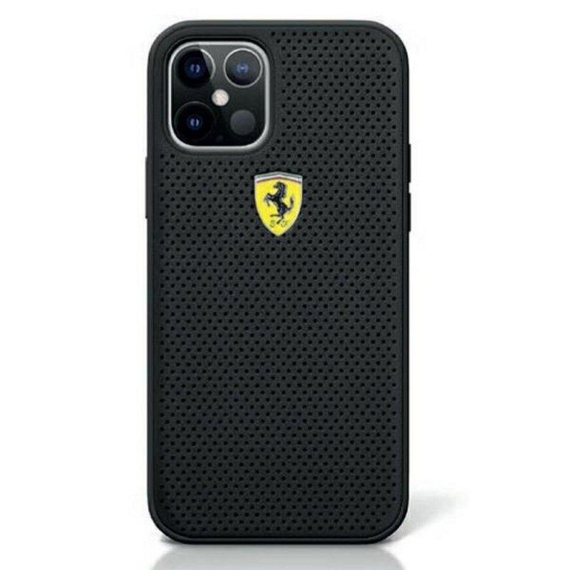 Oryginalne Etui Ferrari Hardcase FESPEHCP12SBK do iPhone 12 MINI czarny