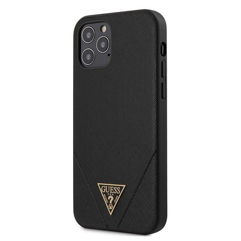 Oryginalne Etui GUESS Hardcase GUHCP12LVSATMLBK do iPhone 12 PRO MAX czarny