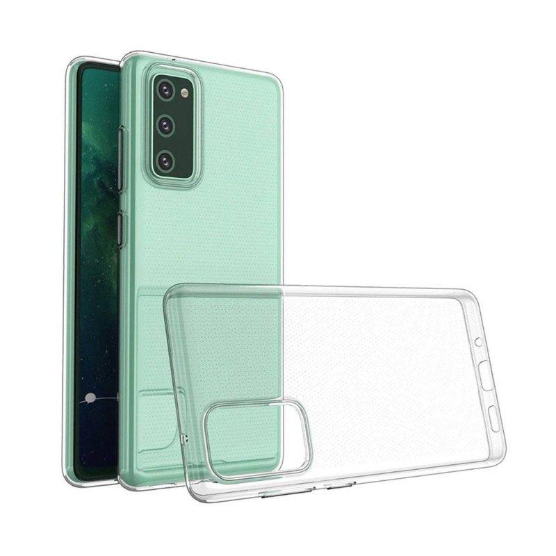 Futerał Back Case Ultra Slim 0,3mm do SAMSUNG Galaxy S20 FE / S20 FE 5G transparent