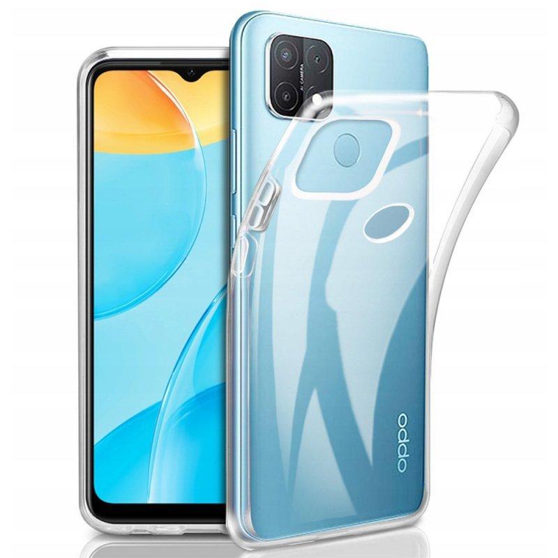 Futerał Back Case Ultra Slim 0,5mm do OPPO A15 / A15s
