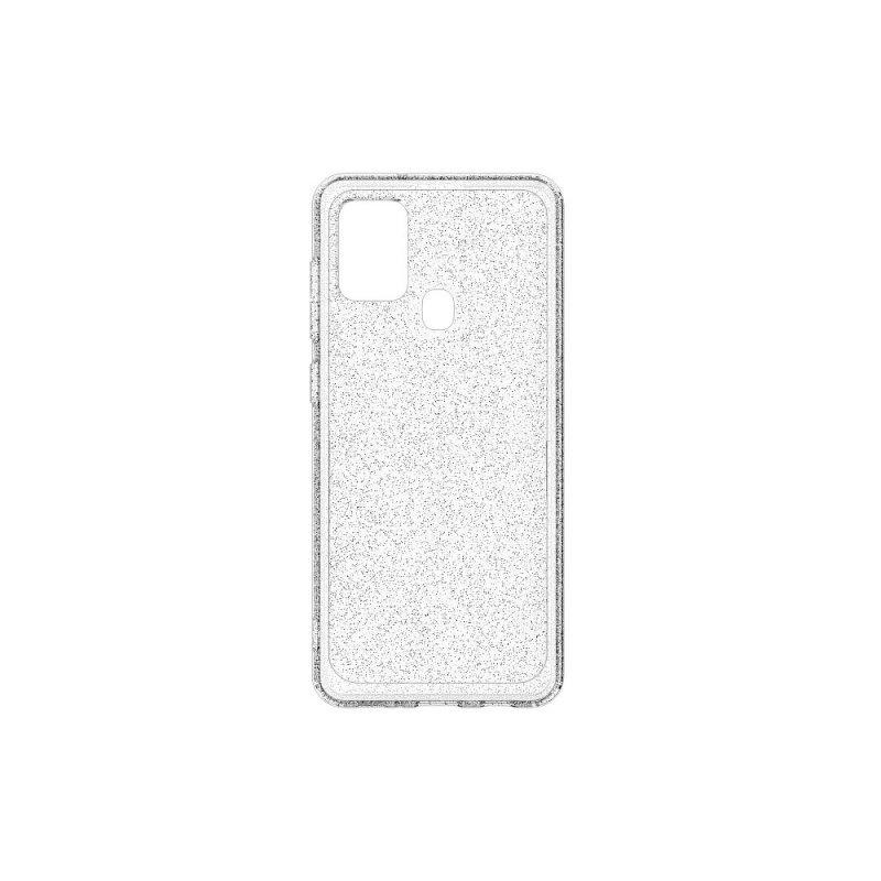 Futerał ARAREE A - cover do SAMSUNG A21S glitter transparent