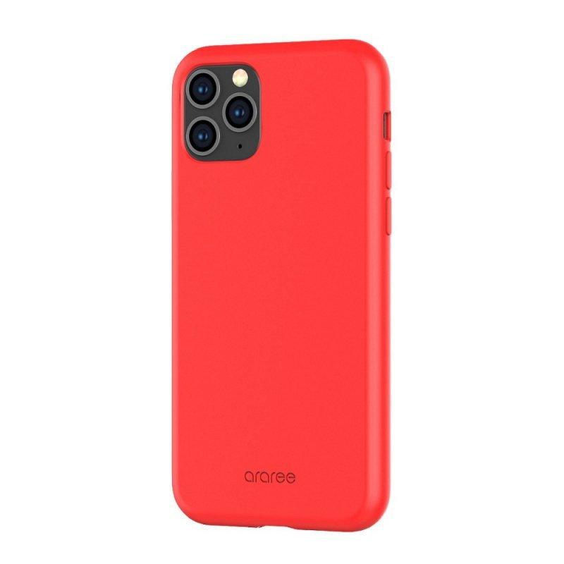Futerał ARAREE Typoskin do IPHONE 11 PRO czerwony