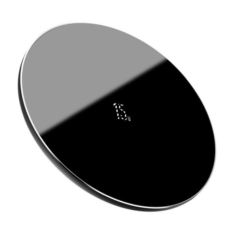 BASEUS ładowarka indukcyjna Simple 15W czarna WXJK-B01