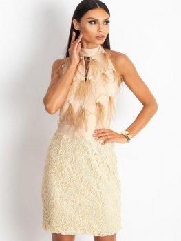 Sukienka-12-SK-75125.81P-beżowy