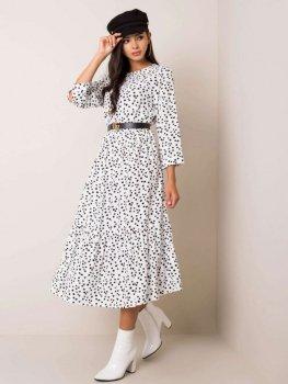 Sukienka-D70013Z30228-biało-czarny