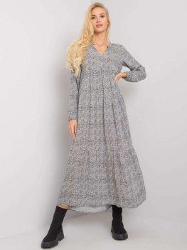 Sukienka-D73771M30225A2EN-biało-czarny