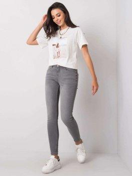 Spodnie jeans-D85030T62100G113-szary