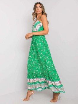 Sukienka-DHJ-SK-13580.30-zielony