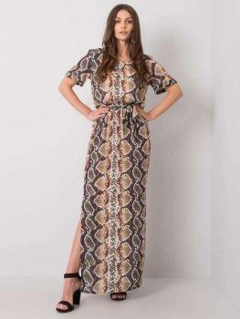 Sukienka-LK-SK-507343.07P-beżowy