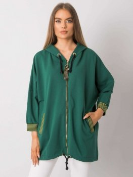 Bluza-RV-BL-6780.45-ciemny zielony