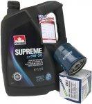Filtr oraz mineralny olej 5W30 Pontiac Firebird