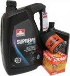 Filtr oleju FRAM PH3506 oraz olej SUPREME 5W30 Hummer H2