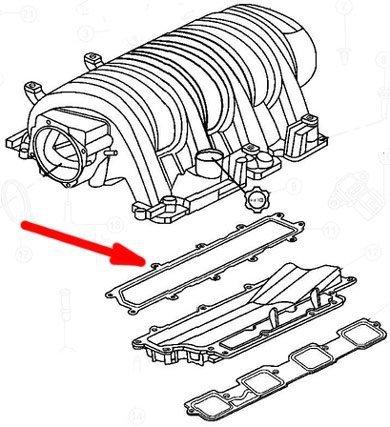 Uszczelka Kolektora Sscego Silnika Mopar Dodge Magnum Srt 8 61 V8