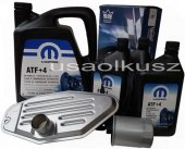 Olej MOPAR ATF+4 oraz filtry skrzyni biegów Jeep Cherokee 2002-2006