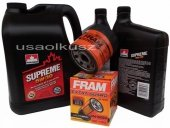 Olej 5W30 oraz filtr oleju silnika Buick Enclave