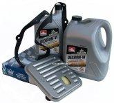 Filtr oraz olej Dextron-VI automatycznej skrzyni biegów Dodge Intrepid