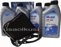 Filtr oraz olej skrzyni biegów Mobil ATF320 Mercury Sable -1995
