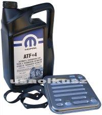 Olej MOPAR ATF+4 oraz filtr automatycznej skrzyni 4SPD Lancia Flavia 2,4 16V