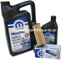 Olej MOPAR 5W20 oraz oryginalny filtr Dodge Journey 3,6 V6 -2013