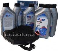 Filtr oraz olej skrzyni biegów Mobil ATF320 Mercury Grand Marquis