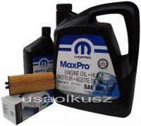 Olej MOPAR 5W30 oraz oryginalny filtr Fiat Freemont 3,6 V6 -2013