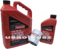Oryginalny filtr oraz syntetyczny olej silnikowy Motorcraft 5W30 Ford Flex 3,5 V6 2011-