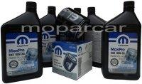Filtr oraz olej MOPAR 10W30 Dodge Charger V6 -2008