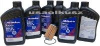 Filtr olej silnikowy 5W-30 Dexos2 Full Synthetic ACDelco GMC Canyon 3,6 V6
