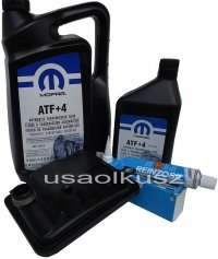 Filtr olej MOPAR ATF+4 skrzyni biegów 6-SPD 62TE Chrysler 200