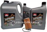 Filtr oraz syntetyczny olej 5W30 Cadillac SRX