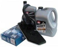 Filtr oraz olej Dextron-VI automatycznej skrzyni biegów A4LD Ford Aerostar 4x4