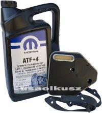 Olej MOPAR ATF+4 oraz filtr automatycznej skrzyni 3SPD Plymouth Neon