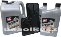 Filtr olej Dextron VI skrzyni biegów 6T75 Buick Enclave 3,6
