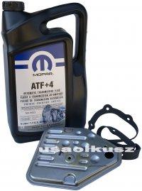 Olej MOPAR ATF+4 oraz filtr automatycznej skrzyni 3SPD Dodge Avenger