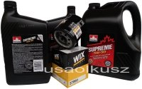Filtr oraz mineralny olej 5W30 Saab 9-7X V8